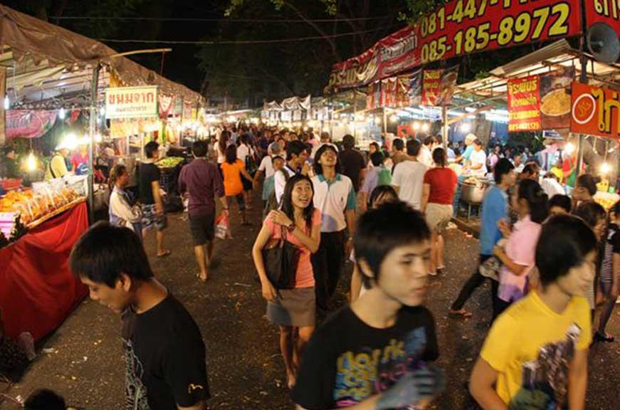 Temple-fair